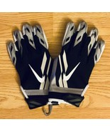 NEW Nike Vapor Shield Cold Weather Black Football Gloves PGF378-010 Size M - $29.69