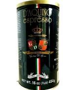 D'Aquino Espresso Roasted Ground Coffee ( Italian Coffee Espresso ) 16 oz - $29.69