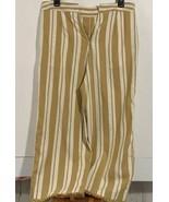 Loveriche Medium Pants Women's Gold Boho Style Gold Tassels - $14.62