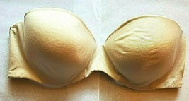 34D Maidenform Self Expressions Lightly Lined Underwire Strapless Bra 05567 - $9.88