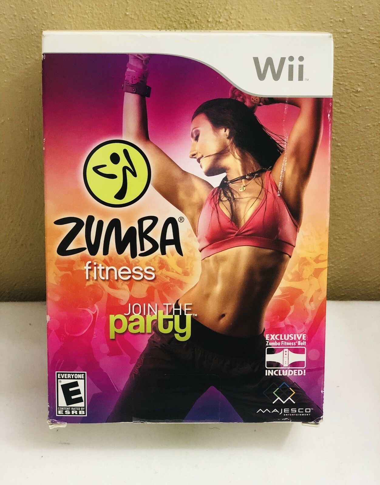 New Wii Zumba Fitness Join The Party w/Belt Nintendo 2010