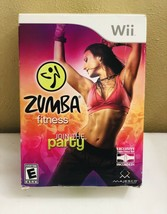 New Wii Zumba Fitness Join The Party w/Belt Nintendo 2010 - $23.17