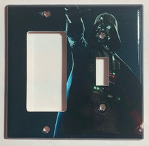 Star Wars Darth Vader Light Switch Power Outlet Wall Cover Plate Home Decor image 6
