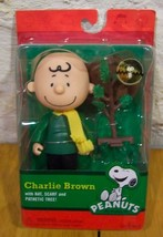 Peanuts A Charlie Brown Christmas Charlie Brown Plastic Toy Action Figure New - $18.32