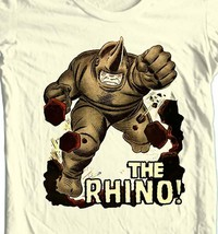 THE RHINO t-shirt vintage Silver Age comic book villain Green Goblin image 1