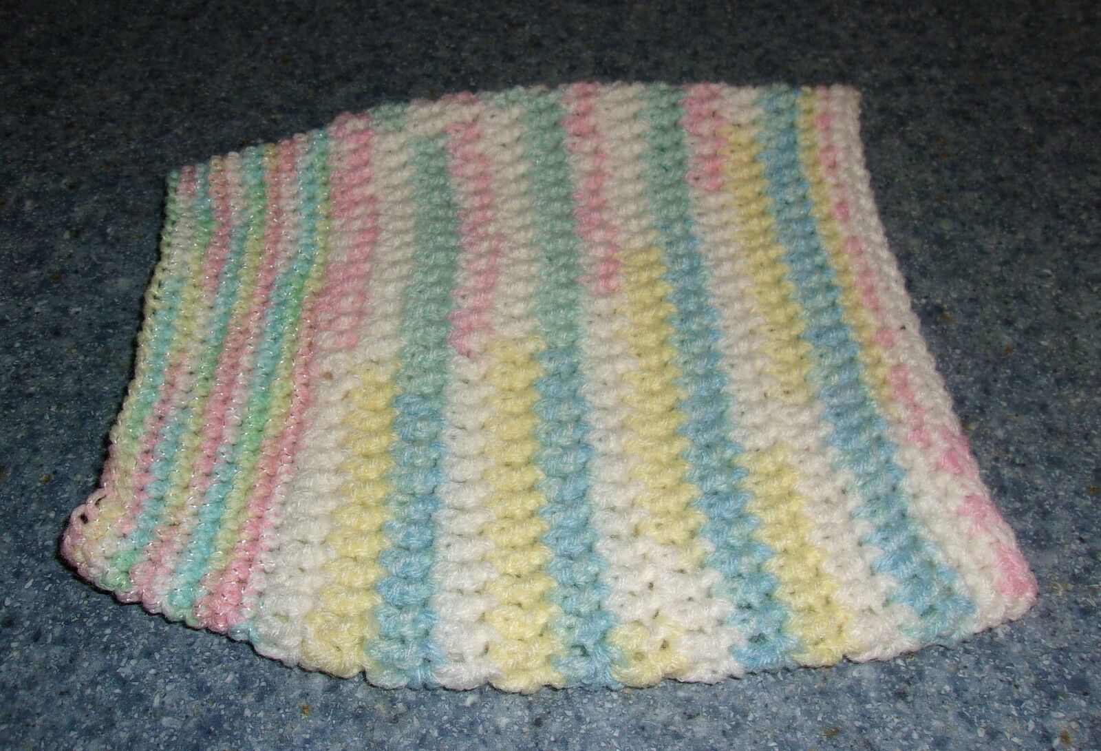 Brand New Pastel Hand Crocheted Dog Snood Neck Warmer For Dog Rescue Charity