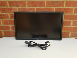 "Acer 24"" inch Monitor, DVI, VGA D-SUB, Acer V246H bd 24"" Widescreen LED Backlit  - $38.15"