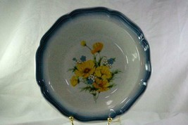 "Mikasa 1985 Amy Round Vegetable Bowl 9 3/4"" Stoneware #CA503 Country Clu... - $9.00"
