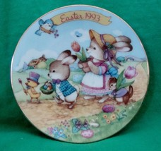 Avon Collectible Plate Easter 1993 Easter Parade - $4.99
