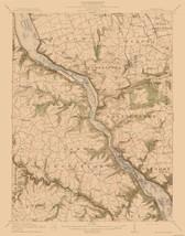 Topo Map - McCalls Ferry Pennsylvania Quad - USGS 1954 - 23.00 x 29.33 - $36.58+