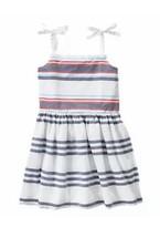 Gymboree Girls Dress STAR SPANGLED SUMMER Size 7 Striped Red White Blue - $14.50