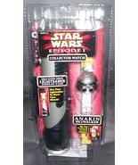 Star Wars Episode 1 ANAKIN SKYWALKER Collector Watch with Display Case NEW - $24.96