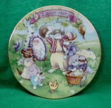 Avon Collectible Plate Easter 1994 All Dressed Up - $2.99