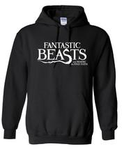 J.K.R. Fantastic Beasts  ,Hoodie,80% Cotton,20%polyester Men's, Women, Kids - $29.99