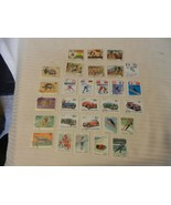 Lot of 29 Guinea Stamps, Scouts, Olympics, Cars, Animals 1968-1969, 1983... - $18.56