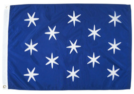 Washington's Commander-in-Chief - 2'X3'  Nylon Flag (Version 2) - $33.60