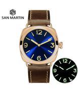 San Martin Vintage Bronze Fashion Simple Automatic Men's Mechanical Watc... - $602.40+