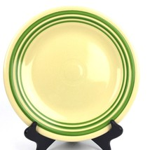 "Fiestaware Retro Green Stripe Dinner Plate 10.5"" HLCCA Exclusive New 1st Quality - $77.29"