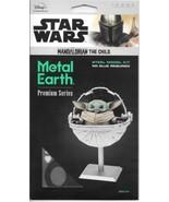 Star Wars The Mandalorian TV Series The Child Metal Earth Laser Cut Mode... - $23.21