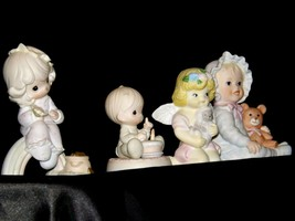 Precious Figurines Moments 4 Pieces AA-191706 Vintage Collectible image 2