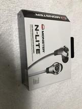 Monster Nlite In-ear Headphones - Silver Standard Packaging Brand New