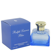 Ralph Lauren Blue Perfume 2.5 Oz Eau De Toilette Spray image 1