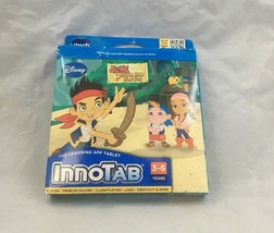 VTECH INNOTAB SOFTWARE DISNEY JAKE AND THE NEVERLAND PIRATES  AGE 3-6 - $8.99