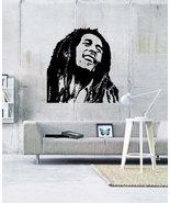 """Bob Marley Reggae Music Vinyl Wall Sticker Decal  44""""h x 44""""w - $44.99"""