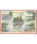 HOT SPRINGS ARKANSAS Lakes Hamilton Catherine Canoes - $6.00