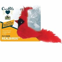 OurPets Play-N-Squeak Real Birds Fly Over Interactive Cat Toy - $7.01 CAD