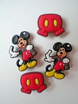 Clog Shoe Plug Button Charm  WristBand Belt 4 Mickey Minnie Mix Lot