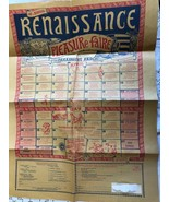 1978 16th Annual Renaissance Pleasure Faire Paramount Ranch CA Newsbill ... - $173.25