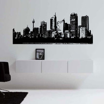 Large SYDNEY Australia Skyline Vinyl Wall Sticker Decal 21 h x 60 w - $59.99