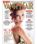 MINT Vanity Fair Magazine. December 2011Issue No. 616 SCARLETT JOHANSSON COVER   - $19.00