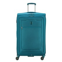 Delsey Luggage Hyperglide Large Checked Luggage Lightweight Spinner Suit... - $154.23