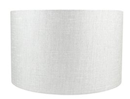 Urbanest Classic Drum Metallic Fabric Lampshade, 16-inch by 16-inch by 10-inch,  - $59.39