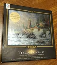 """Ceaco ~""""Courage' Valor'"""" By Thomas Kinkade 750 Piece Puzzle. Metallic.  Sealed - $24.74"""