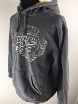 AMERICAN EAGLE Graphic Pullover Casual Gray Hoodie Sweatshirt Men's Size... - $491,32 MXN
