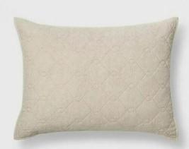 Threshold Chenille Jacquard Standard Sham - Cream - $11.40