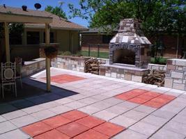 "#1818SL-B Slate Stepping Stone Square Mold Make Natural Concrete 18""x18""x1-3/4""  image 6"