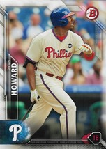 Ryan Howard Bowman 2016 #66 Philadelphia Phillies - $0.15