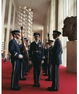 US Air Force Presidential Honor Guard Drill Team at Kennedy Ctr - New 8x... - $8.81
