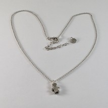 Silver Necklace 925 Jack&co with child with Zircon Cubic White JCN0616 - $74.57