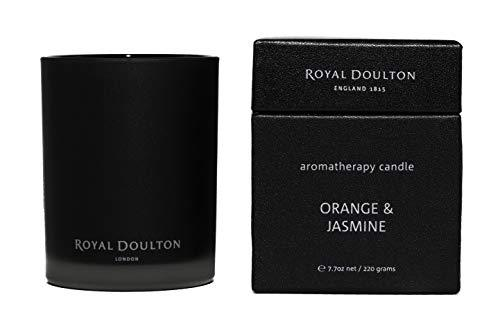 Primary image for Royal Doulton Premium Aromatherapy Candle - Orange & Jasmine - 40+ hours burn 7.