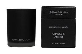 Royal Doulton Premium Aromatherapy Candle - Orange & Jasmine - 40+ hours... - $34.04