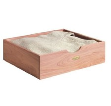 Cedar Sweater Storage Box Closet Bedroom Storage Stackable - $38.56