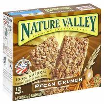 Nature Valley Crunchy Granola Bars - Pecan Crunch - 8.9 oz - 12 ct - $9.50