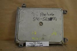 1994-1995 Honda Prelude 2.3L Engine Control Unit ECU 37820P14A12 Module ... - $29.69