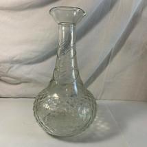 Vintage Post Prohibition Liquor Bottle R-105 58-56 Law Forbids Sale 1950... - $14.84