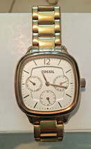 Fossil ES2855 Rose Gold Stainless Steel Multifunction Women's Watch - $31.68